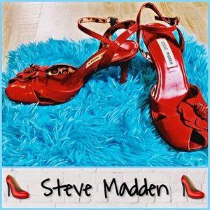 Size 8.5 Red Steve Madden Pump